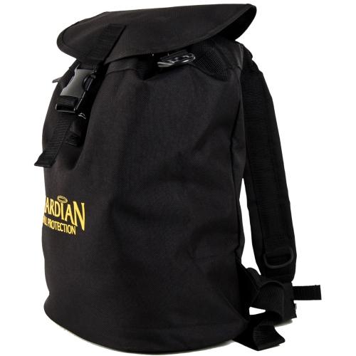 7f6544642 Guardian 00768 Ultra Sack Small Black Canvas Duffel Backpack