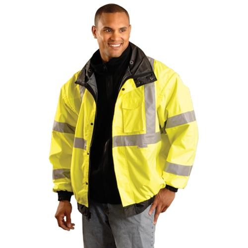 Premium Four Way Bomber Jacket Yellow
