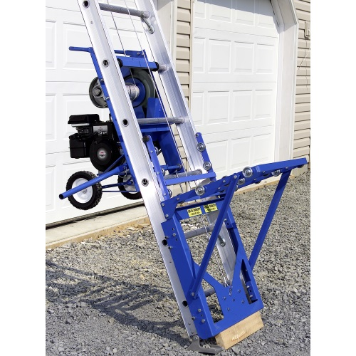 Safety Hoist Hd 400 B Amp S Engine 400 Lb Capacity Ladder