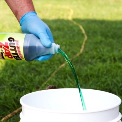 Residential Use Gutter Zap Gutter Cleaning Solution 1 Qt