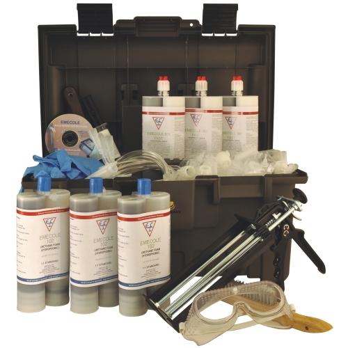 30 ft  Quick-Cure Foundation Crack Repair Kit - Polyurethane Foam