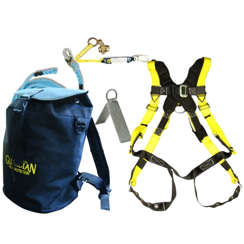 Guardian 00815 Bucket of Safe-Tie Premium Roofing Kit w/XL Harness and Bag  GUA-00815-3XL & GUA-00815-BAG   Big Rock SupplyBig Rock Supply