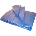 Blue Poly Tarps