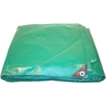 Heavy Duty Green/Black Poly Tarps
