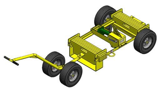 AES Raptor Stinger Mobile Fall Protection Unit AES Raptor Stinger Mobile Safety Cart
