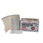 Clear Contractor Clean-Up Bags 42 Gal. 20-Count