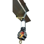 Guardian 11020 9 ft. Diablo Single SRL with Steel Rebar Hook guardian fall protection, self retracting lifeline, srl, diablo, fall protection, roofing, safety
