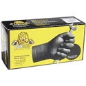 Lion Grip Black Nitrile Gloves - 90 ct.
