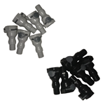 OMG Quick Connects (6 pk) OMG BLACK AND GRAY FITTINGS, pace cart, pace cart fittings, fittings, connects, quick connects, OMG-OBCONKIT-GRAY, OMG-OBCONKIT