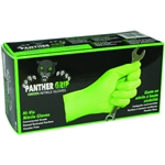 Panther Grip, Hi-Vis Powder/Latex Free Nitrile Gloves - 90/Pk