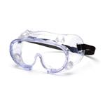 Pyramex G205T Chemical Splash Goggle - Clear Anti-Fog U6, Polycarbonate lens, G205, High Impact Goggles, Goggles, Chemical Splash Goggles, Polyvinyl Chloride Lens, UV Filter transmittance Goggles, UV Filter, ANSI Z87 Goggles,   Clear, Clear AF