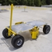 Roof Zone Penetrator Mobile Fall Protection Device w/Cart & Flat Free Tires - TDE-65033