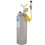 Bradley Portable Eyewash and drench hose satation 10 Gallon