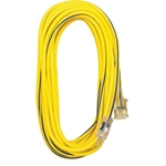 Voltec 25Ft. 12/3 SJTW Extension Cord w/ Lighted Ends