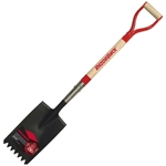 Razor-Back 46142 Short D-Handle Roofing Shovel Shingle Remover, Spade w/ Serrated Eged & Fulcrum