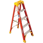 Werner 6205 Step Ladder, 5 ft. - Fiberglass