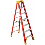 Werner 6207 Step Ladder, 7 ft. - Fiberglass