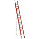 Werner D6220-2 Fiberglass Extension Ladder, D-Rung - 20 ft.