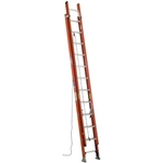 Werner D6224-2 Fiberglass Extension Ladder, D-Rung - 24 ft.