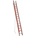 Werner D6228-2 Fiberglass Extension Ladder, D-Rung - 28 ft.