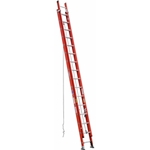 Werner D6232-2 Fiberglass Extension Ladder, D-Rung - 32 ft.