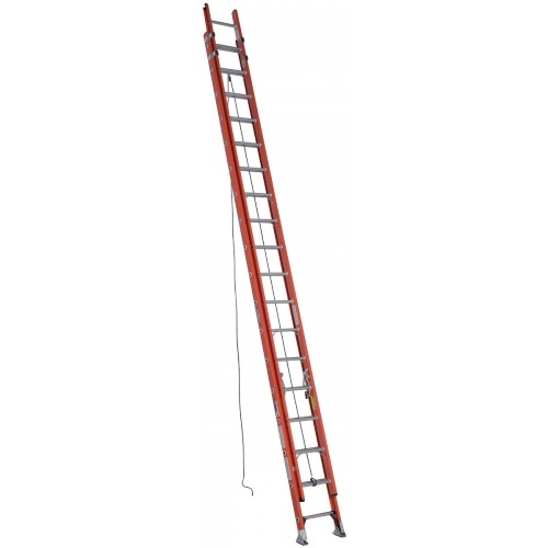 Pvc Ladder Rungs : Werner d fiberglass extension ladder rung ft