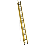 Werner D7136-2, 36 Ft. Type IAA Fiberglass Extension Ladder