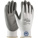 PIP 19-D322 Great White 3GX Glove, Dyneema Diamond Shell, Gray, PU Coating EN4