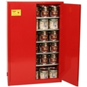 Eagle PI-47 Paints and Inks Safety Cabinet, Red
