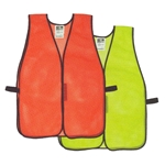 Radwear Non-Rated Safety Vests - No Stripe Mesh