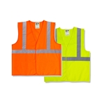 Radwear Approved Safety Vests - Solid Polyester Knit