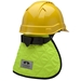 Pyramex CNS130 Cooling Hard Hat Pad & Neck Shade - Lime - 349-CNS130