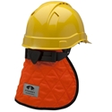 Pyramex CNS140 Cooling Hard Hat Pad & Neck Shade - Orange