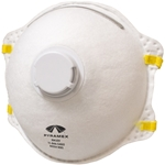 Pyramex RM10V Single-Valve N95 Particulate Disposable Respirator, Box of 10 disposable respirator, disposable dust mask