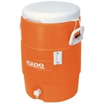 Igloo 5 Gallon Beverage Cooler, Orange