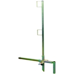 DBI Sala 7901000 Flexiguard Portable Construction Guardrail parapet wall guardrail system, parapet, guardrail, guard, rail, railguard, ACRO, 12090