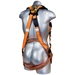 Malta Dynamics B2002-X Warthog Harness, Tongue Buckle Legs (S-M-L) w/X Pad - MD-B2002-X