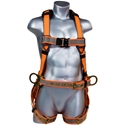 Malta Dynamics B2101 Warthog Maxx Construction Harness w/Side Ds, TB Legs & Belts (S-M-L)