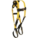 FallTech 7021 Journeyman Harness, Back D-ring, TB Legs & MB Chest, UniFit