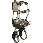 FallTech 7088 FlowTech Harness, Back, and Side D-rings, TB Legs, QC Chest, FlowScape Shoulder, Leg and Waist Pads, M