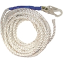 FallTech 8150T 50 ft. x 5/8 in. Premium Lifeline, 1 Snap Hook and Taped End
