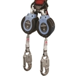 FallTech 82706TB1 DuraTech 6 ft. Web Double-Leg Self Retracting Lifeline