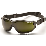 Pyramex GB1850SFT V2G Safety Glasses-Black Frame 5.0 IR Filter Lens