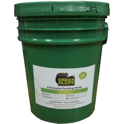 Green Slope Roof Leveling Kit 5 Gal