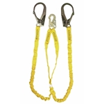 Guardian 11203 Double Leg Internal Shock Lanyard w/ Rebar Hooks