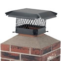 *Clearance* HY-C CBO99 Draft King Single Flue 9 in. x 9 in. Chimney Cap HY-C, draft king, outside mounting