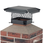 *Clearance* HY-C CBO913 Draft King Single Flue 9 in. x 13 in. Chimney Cap HY-C, draft king, outside mounting