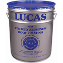 Lucas 728 Fibrated Aluminum Coating, 5 gal.