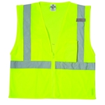 ML Kishigo 1085 Ultra-Cool Mesh 3-Pocket Vest lime