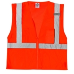 ML Kishigo 1086 Ultra-Cool Mesh 3-Pocket Vest orange